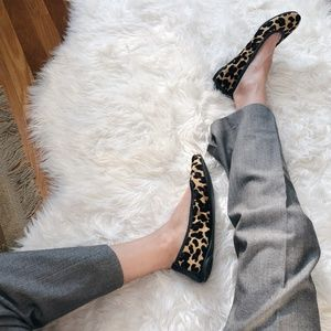 TORY BURCH/ cheetah flats